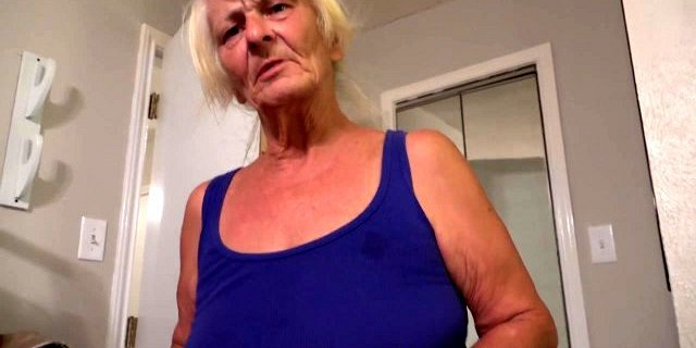 Poor Little Anal Granny Gets Used And Abused