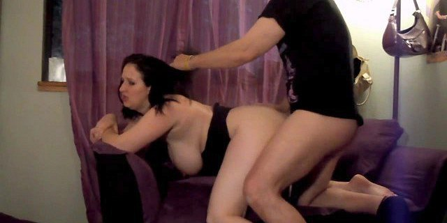 Big Titty Chubby Girl  Sex on Couch