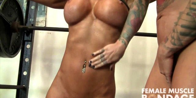 Fit Megan Avalon and Dani Andrews Admire Each Other