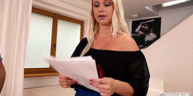 Exposed Casting - Czech blondie auditions on a hard cock