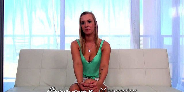 CastingCouch-X - Hot blonde Bailey Brookes in porn audition
