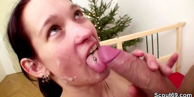 German Hooker get tight asshole fucked from Monster cock