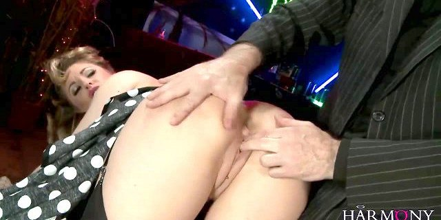 HARMONY VISION Blonde with big natural tits fucked