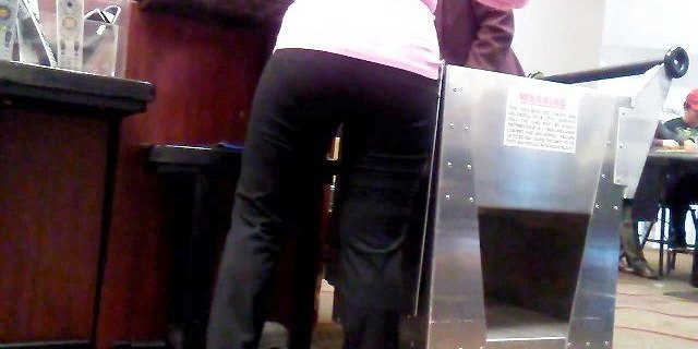 Candid Small Chinese Gilf Booty