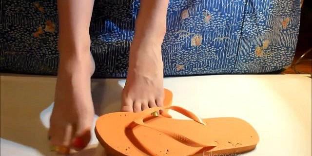 Baby Oil Foot Massage and Tickling