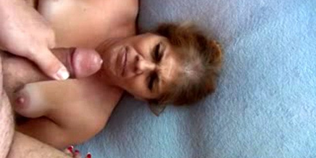 POV ANAL Mexican Granny Gets Butt Fucked