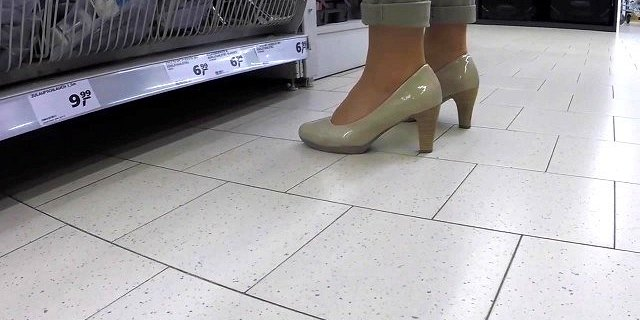 Public Solo Feet and Shoes