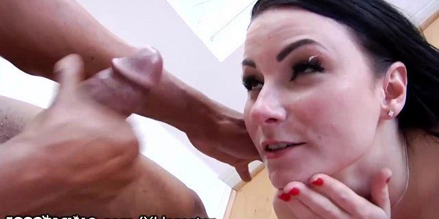 Horny Petite Whore Sucking On Real Thick Big Black Dick