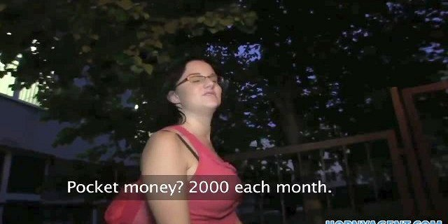 HornyAgent HD Big ass girl is fucked behind a train station