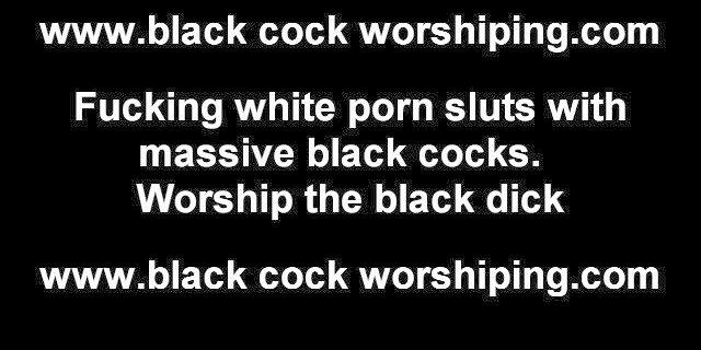 I need some big black cock in my tight white pussy