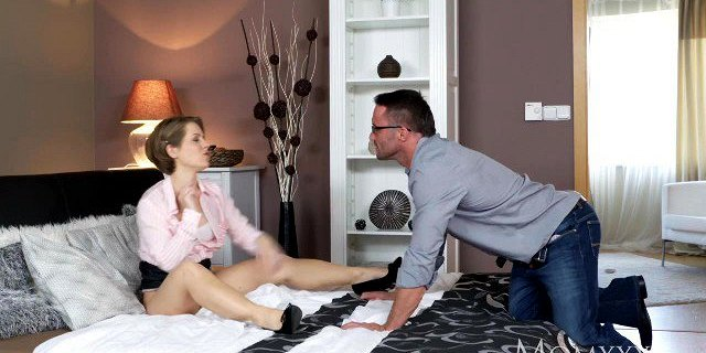 MOM Housewife face slapping and dominating her sub husband