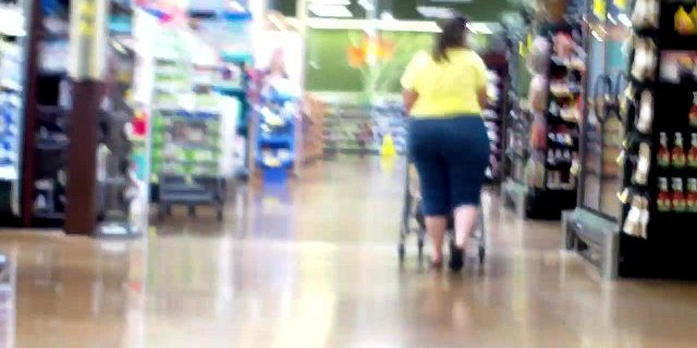 Amazon Wide Hips Bends Over For The Stalker