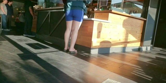 Nice solid ass big legs and calves