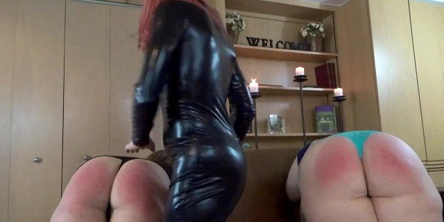 Spanked By Lady D!