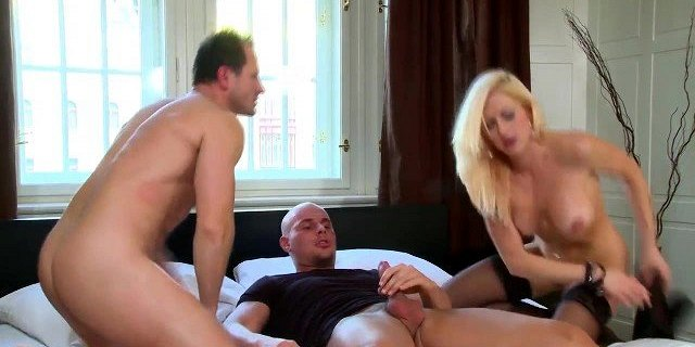Stacy Silver being double penetrated