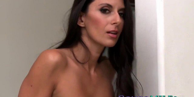 Handsome MILF wants her hairy pussy serviced by a cutie
