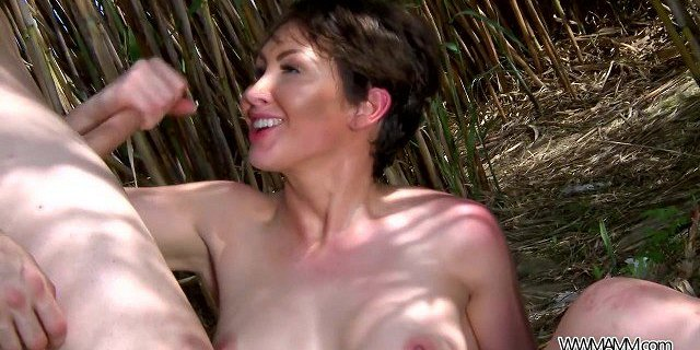 MyFirstPublic - Super perfect busty babe fucked in fields