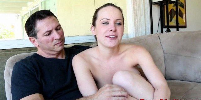 Tattooed tramp playing out fantasy fuck