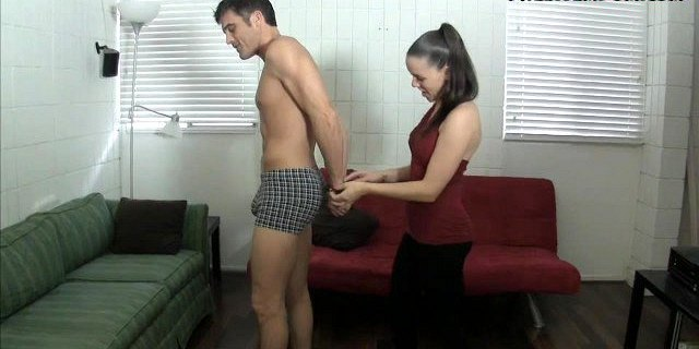 She gave me the keys to your cuffs BALLBUSTING LEGGINGS