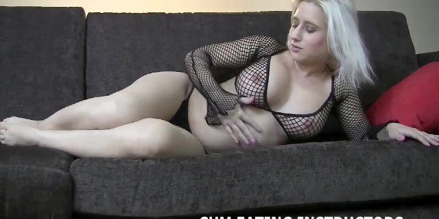 Cum and then swallow it all down CEI