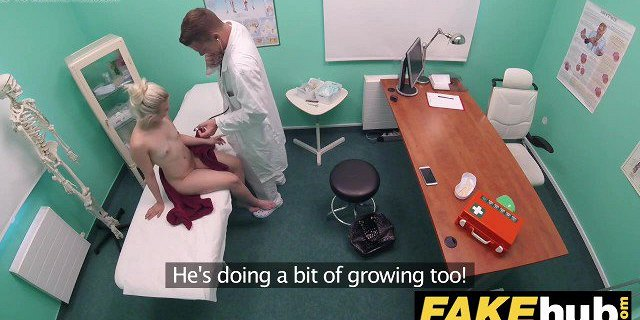 Fake Hospital Horny doctor gets to fuck a freshly shaven