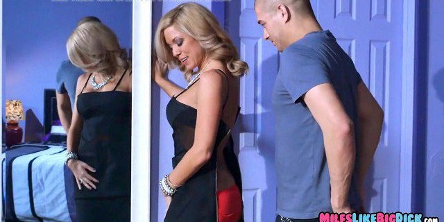 Blonde Mom needs that Cock