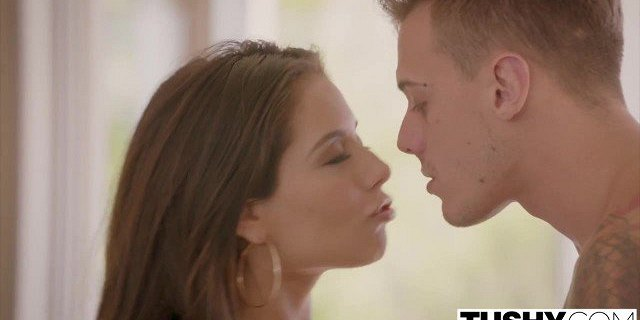 TUSHY Jynx Maze takes the biggest cock of her life in her as