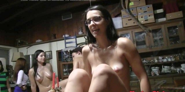 Sorority babes pleasure pussy with toys
