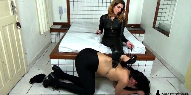 Trainer Slave Girl Trample Foot Domination Mistress RedHead