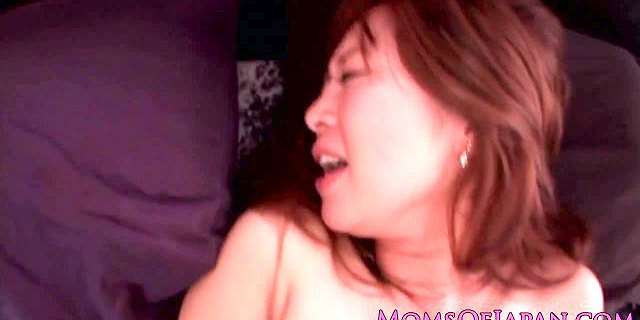 Cocksucking asian mom rimmed then doggystyled