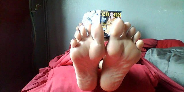 Her gorgeous soles