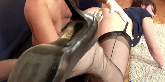 Classy british matures toy play and spank