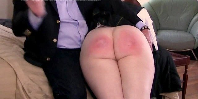 Spanked for lying