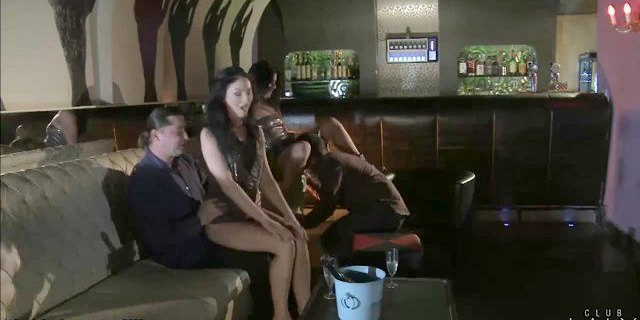 ClubLaly Nasty Foursome with double penetration!