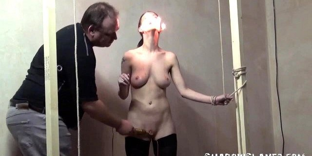 Merciless slaveslut torture of Emily X in extreme pain